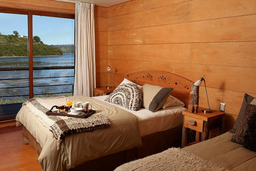 Habitación doble - vista al mar | Palafito 1326 - Hotel Boutique, Chiloé, Chile